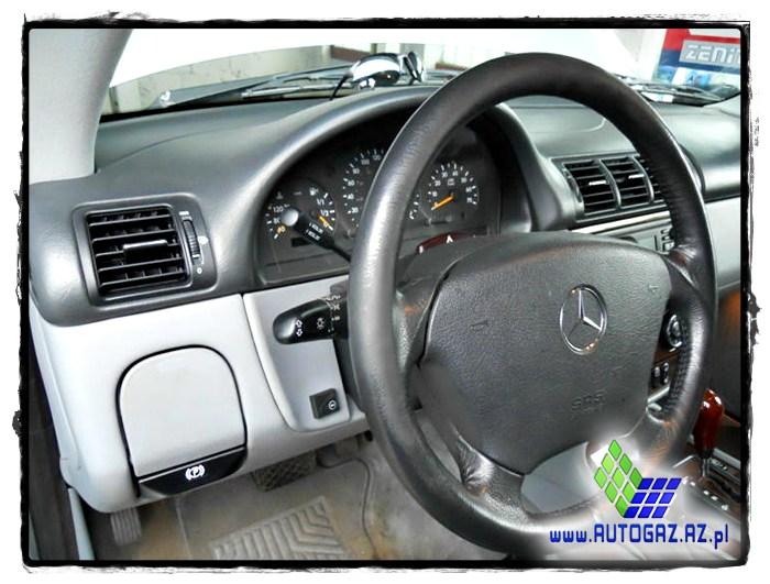 Mercedes ML500 5.0 V8 32V instalacja gazowa lpg - 7
